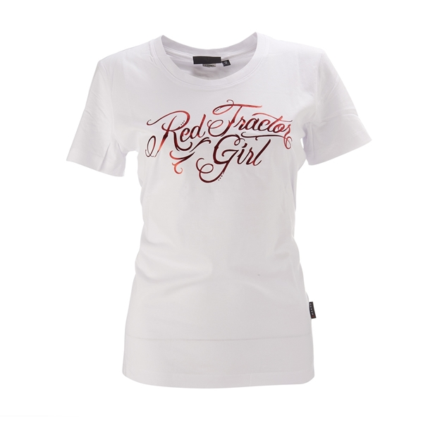 "Picture of Women's ""Red Tractor Girl"" T-Shirt"