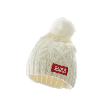 Picture of White knitted hat