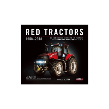 Picture of Red Tractors 1958-2018 book - German ed.
