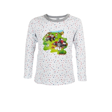 Picture of Baby's long-sleeved T-shirt, white